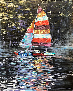 Day Sailor on the Lake