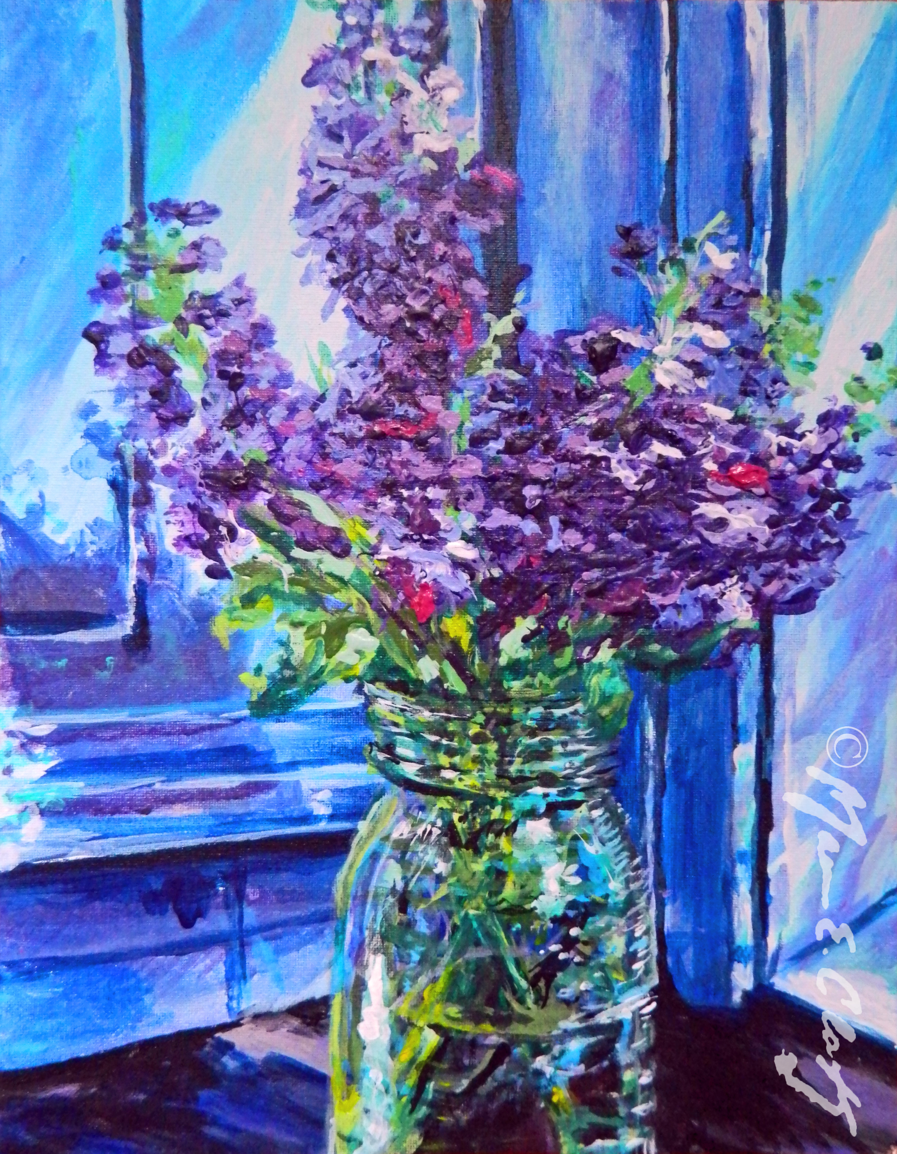 Flower & Mason Jar 6