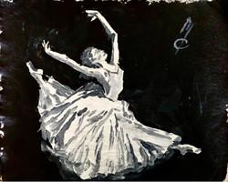 Ballet Figure Study 2