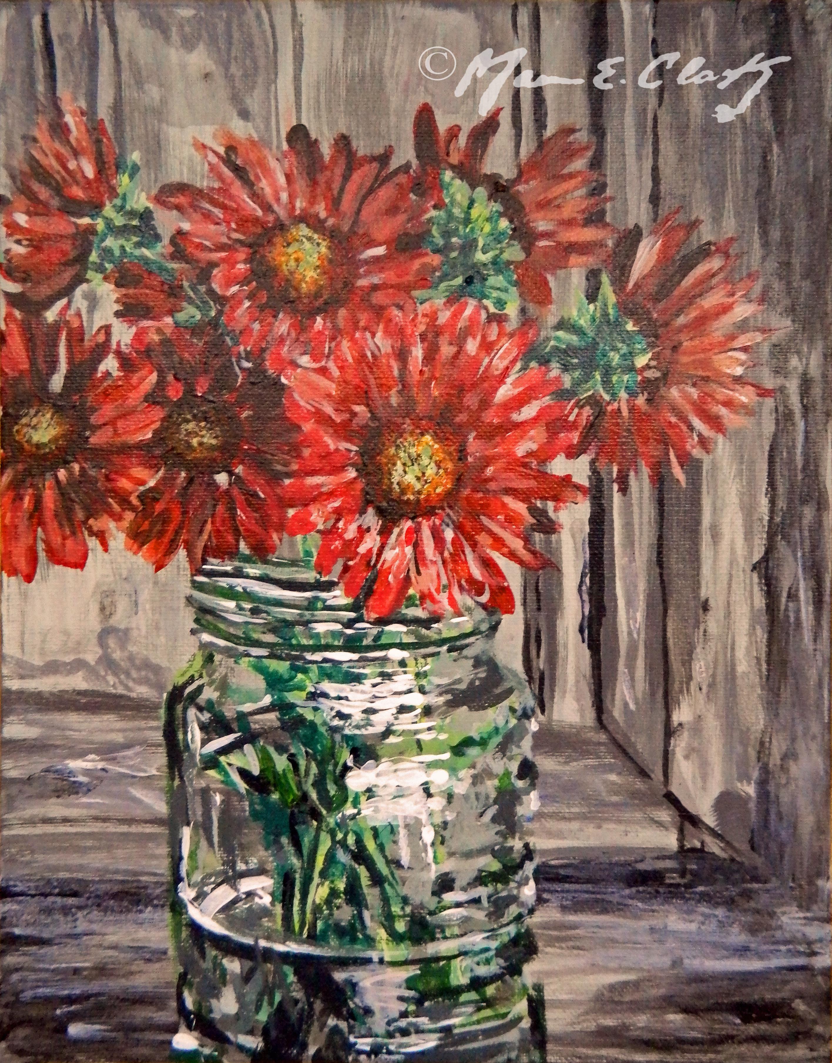 Flower & Mason Jar 2