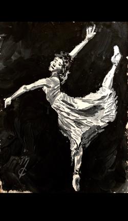 Ballet Figure Study 3
