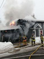 Edmundston: Un incendie détruit une résidence familiale
