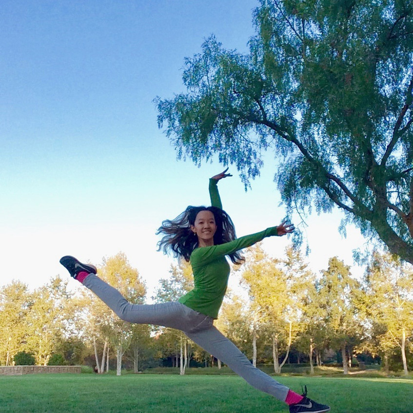 Leaping in the Park
