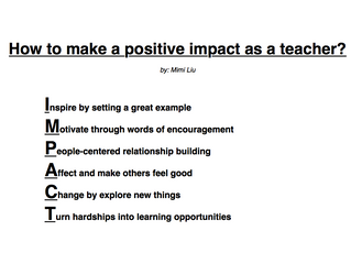 Empowering Students Through Your Teaching