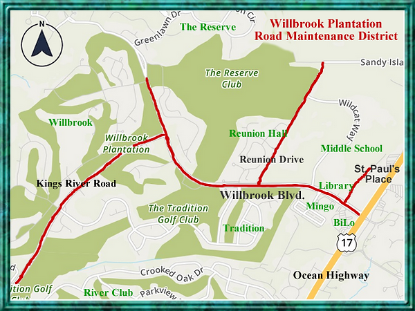Willbrook Blvd Map.png