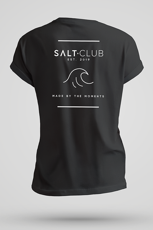 Salty Wave | Natural Tee