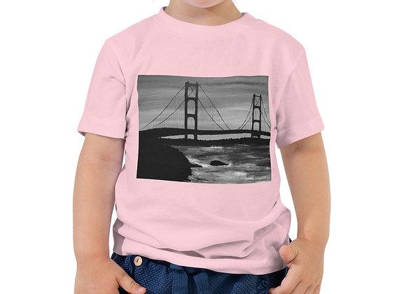Toddler Short Sleeve Mackinac Bridge Tee