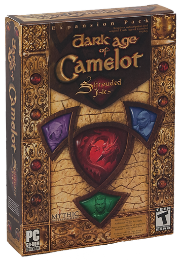 Dark Age of Camelot: Shrouded Isles Packaging
