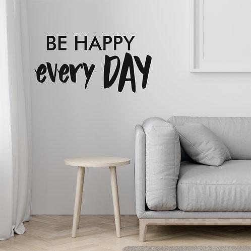 """Стик-постер """"BE HAPPY"""""""