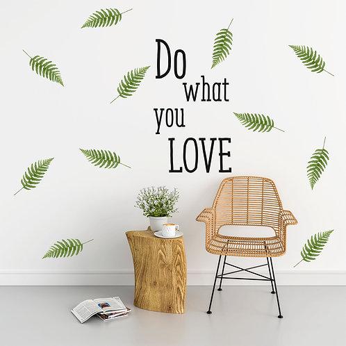 """Стик-постер """"Do what you LOVE"""""""