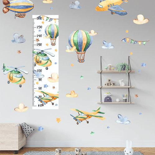 Ростомер Воздушный сет акварель