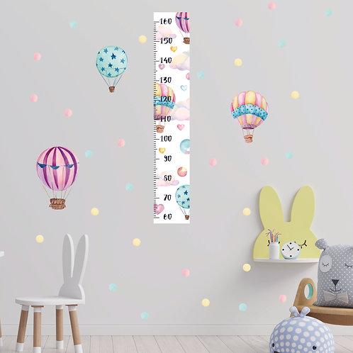 Ростомер Воздушные шары пастель