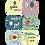 Thumbnail: Стикеры для фото мальчиков до годика Машинки
