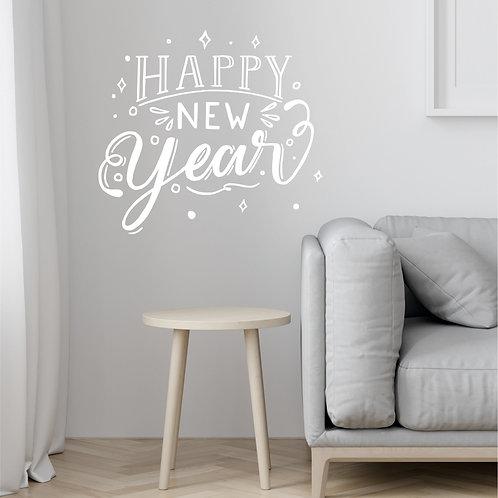 "Стикеры ""HAPPY NEW YEAR"""
