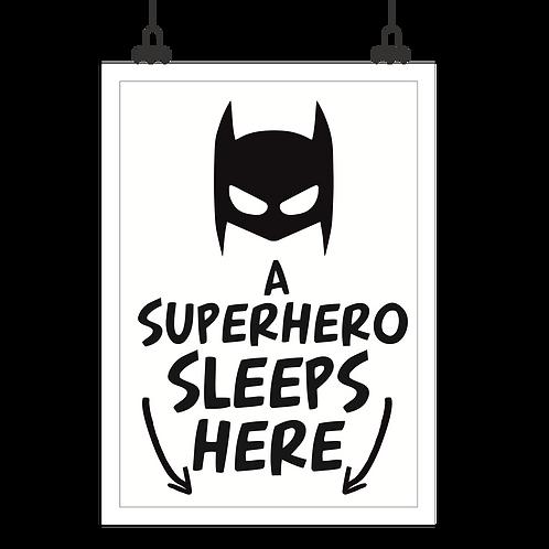 """Постер """"Superhero"""""""