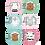 Thumbnail: Стикеры для фото девочек до годика Животные