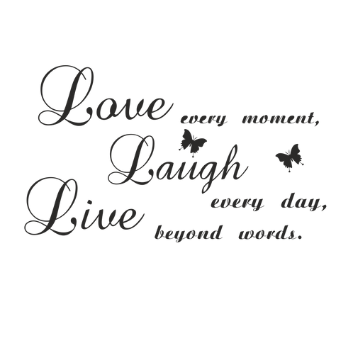 "Стик-постер ""Love every moment"""