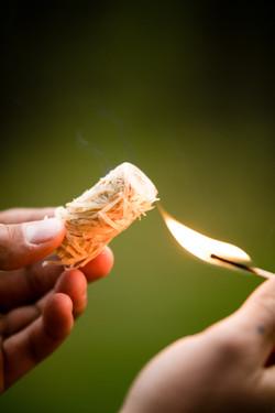 Woodbioma wood wool firelighters