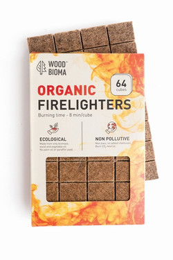 Woodbioma organic firelighters