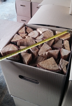 Woodbioma firewood in box