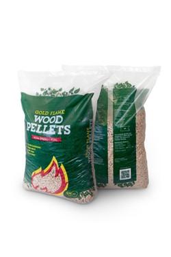 Woodbioma wood pellets