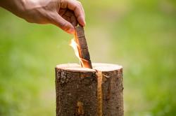 Woodbioma swedish torch Vulcano