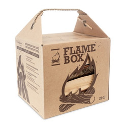 woodbioma firewood flame box