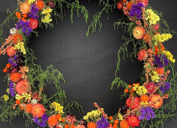 Fall Sweet Annie Wreath