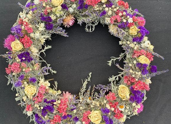 """16"""" Artemisia pastel Wreath"""