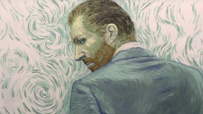 A look at the world's first fully hand painted film honoring Vincent Van Gogh