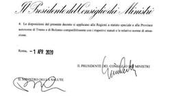 CORONAVIRUS: PROROGA SOSPENSIONE ATTIVITA' PRODUTTIVE FINO AL 13/04/2020