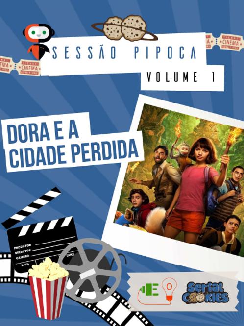A PARTIR DE 6 ANOS: Eurecookies Vol1 Dora aventureira - 1 X R$ 12,00