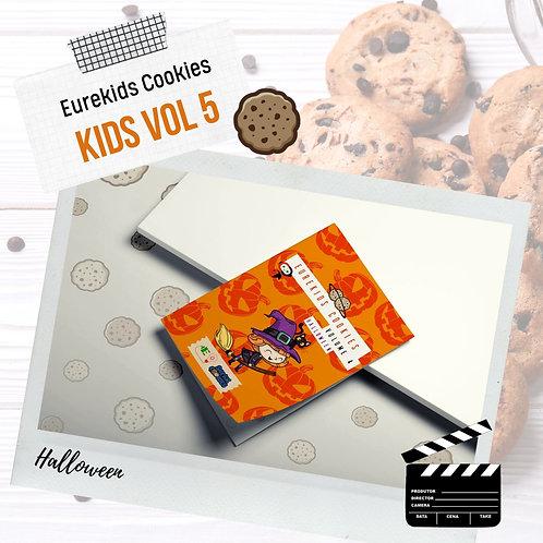 DE 2 a 5 ANOS: Eurekids Cookies Vol5 Halloween - 1 X R$ 12,00