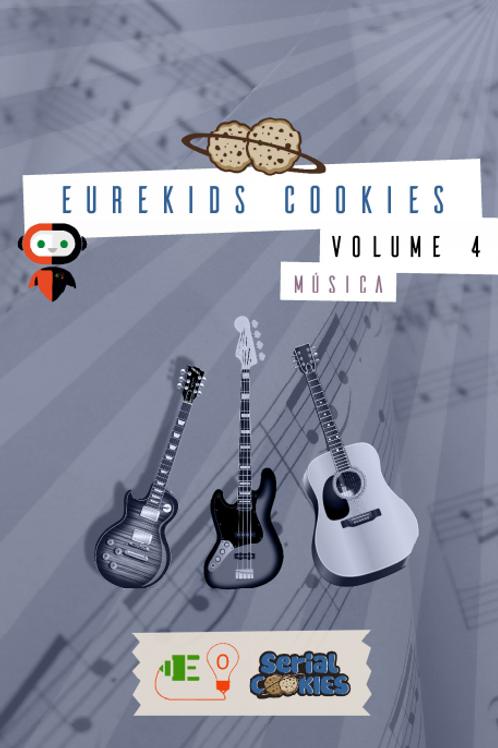 DE 2 a 5 ANOS: Eurekids Cookies Vol4 Música - 1 X R$ 12,00