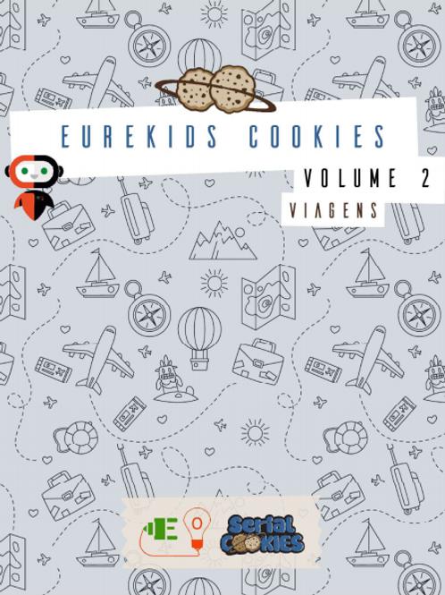 DE 2 a 5 ANOS: Eurekids Cookies Vol2 Viagem - 1 X R$ 12,00