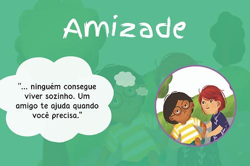 DE 7 a 10 ANOS: Dicionário Amoroso de Valores para as crianças - 1 X R$ 19,90