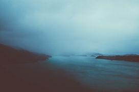 düstere Landschaft