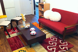 1階リビング(1st Floor Living room)