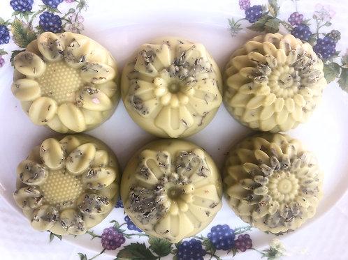 Flower Power Lavender Lotion Bars