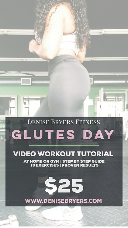 Glutes Day Video Workout Tutorial