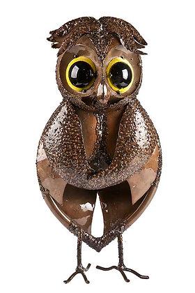 HOO THE OWL (SMALL - BRONZE) TUBE FOLK