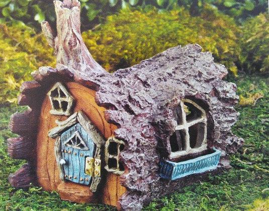 Fiddlehead Fairy LOG HOME