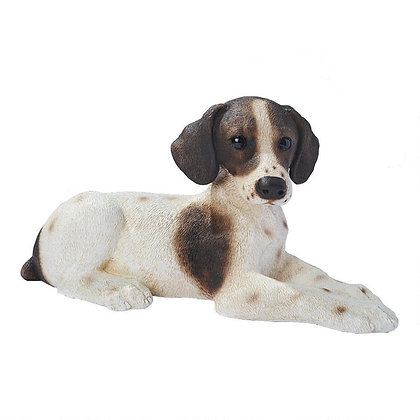 POINTER PUPPY STATUE