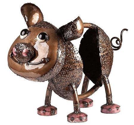OINK THE PIG (LARGE - BRONZE) TUBE FOLK