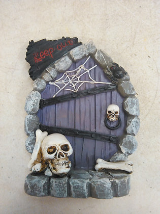 SKELETON HALLOWEEN DOOR