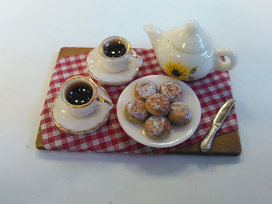 TEA AND SCONES SET