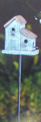Fiddlehead Fairy BLUE BIRDHOUSE
