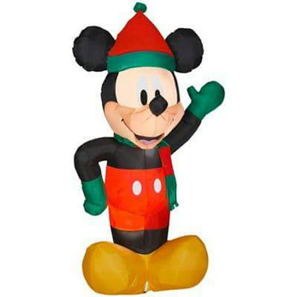 MICKEY MOUSE IN HOLIDAY OUTFIT