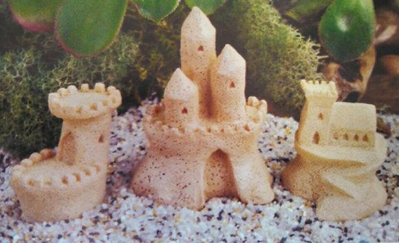 Fiddlehead Fairy SAND CASTLES (SET OF 3)