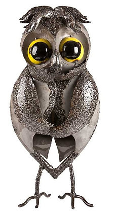 HOO THE OWL (LARGE - SILVER) TUBE FOLK